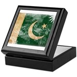 Pakistan Flag Keepsake Box