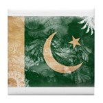 Pakistan Flag Tile Coaster