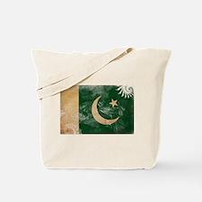 Pakistan Flag Tote Bag