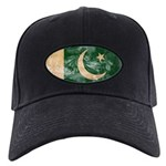 Pakistan Flag Black Cap