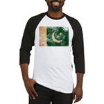 Pakistan Flag Baseball Jersey