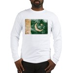 Pakistan Flag Long Sleeve T-Shirt