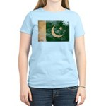 Pakistan Flag Women's Light T-Shirt