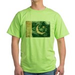 Pakistan Flag Green T-Shirt