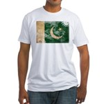 Pakistan Flag Fitted T-Shirt