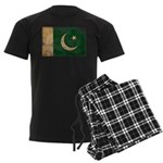 Pakistan Flag Men's Dark Pajamas