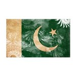 Pakistan Flag 38.5 x 24.5 Wall Peel