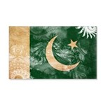 Pakistan Flag 22x14 Wall Peel