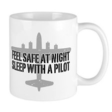 Funny Pilot Small Mug