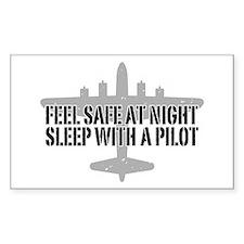 Funny Pilot Decal
