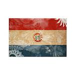 Paraguay Flag Rectangle Magnet (100 pack)