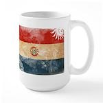 Paraguay Flag Large Mug