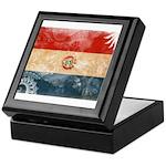 Paraguay Flag Keepsake Box
