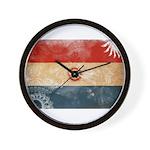Paraguay Flag Wall Clock