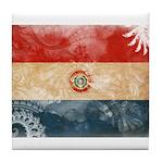Paraguay Flag Tile Coaster