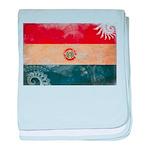Paraguay Flag baby blanket