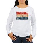 Paraguay Flag Women's Long Sleeve T-Shirt