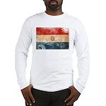 Paraguay Flag Long Sleeve T-Shirt