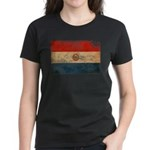 Paraguay Flag Women's Dark T-Shirt