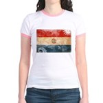 Paraguay Flag Jr. Ringer T-Shirt