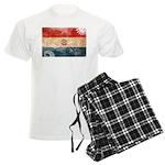 Paraguay Flag Men's Light Pajamas