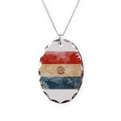 Paraguay Flag Necklace