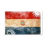 Paraguay Flag Car Magnet 20 x 12