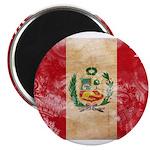 Peru Flag Magnet