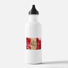 Peru Flag Water Bottle