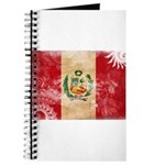 Peru Flag Journal