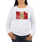 Peru Flag Women's Long Sleeve T-Shirt