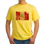 Peru Flag Yellow T-Shirt