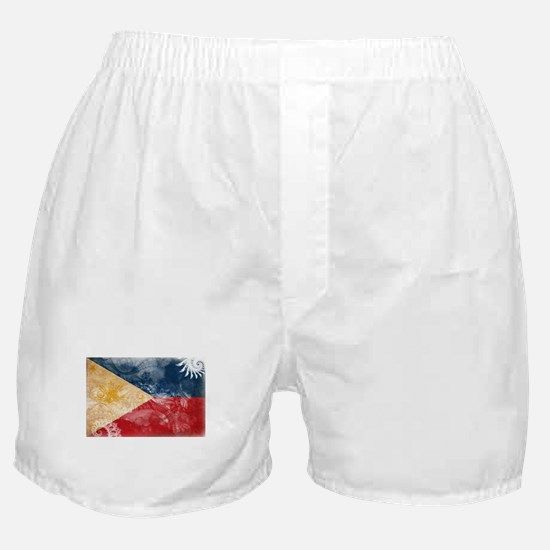 Philippines Flag Boxer Shorts