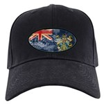 Pitcairn Islands Flag Black Cap