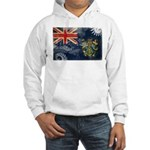 Pitcairn Islands Flag Hooded Sweatshirt