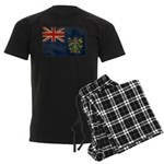 Pitcairn Islands Flag Men's Dark Pajamas