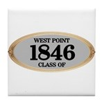 West Point Class of 1846 Tile Coaster