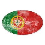 Portugal Flag Sticker (Oval 10 pk)
