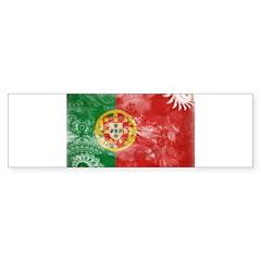 Portugal Flag Sticker (Bumper)