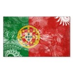 Portugal Flag Sticker (Rectangle)