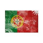 Portugal Flag Rectangle Magnet (10 pack)