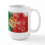 Portugal Flag Large Mug