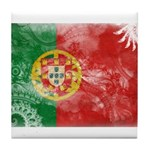 Portugal Flag Tile Coaster