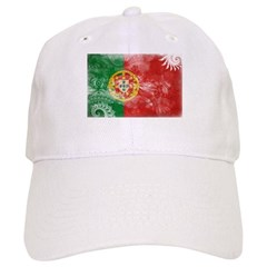 Portugal Flag Baseball Cap