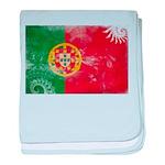 Portugal Flag baby blanket