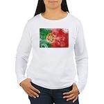 Portugal Flag Women's Long Sleeve T-Shirt
