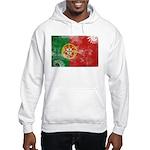 Portugal Flag Hooded Sweatshirt