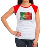 Portugal Flag Women's Cap Sleeve T-Shirt