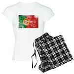Portugal Flag Women's Light Pajamas