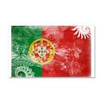 Portugal Flag Car Magnet 20 x 12